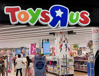 Rotulo iluminado fachada Toys R Us