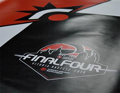 Elementos decorativos para la Final Four