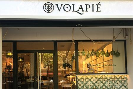 Decoracion integral taberna Volapie, Madrid