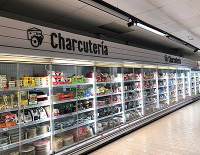 Rotulacion de secciones en supermercados DIA
