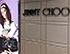 Instalacion de fotografia en gran formato para Jimmy Choo